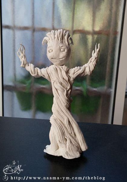 Baby Groot first step - בייבי גרוט שלב ראשון