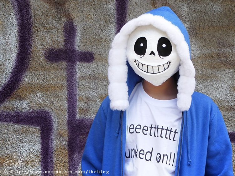 תחפושת סאנס -Sans Undertale costume