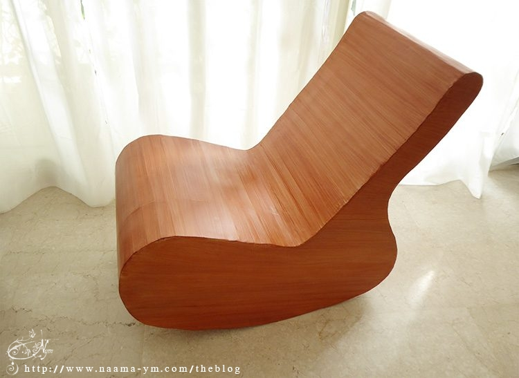 cardboard rocking chair diy