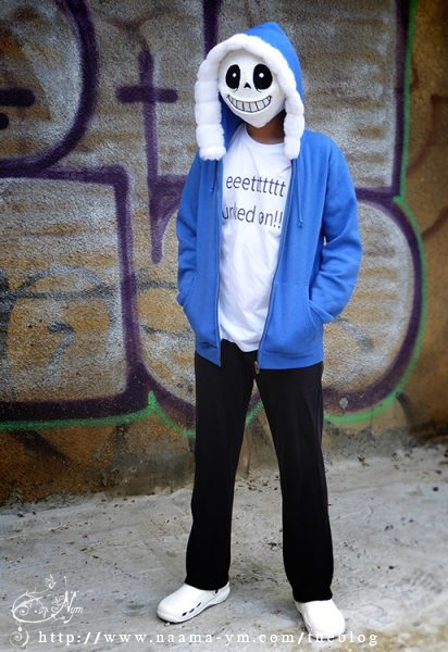 תחפושת סאנס -Sans Undertale costume