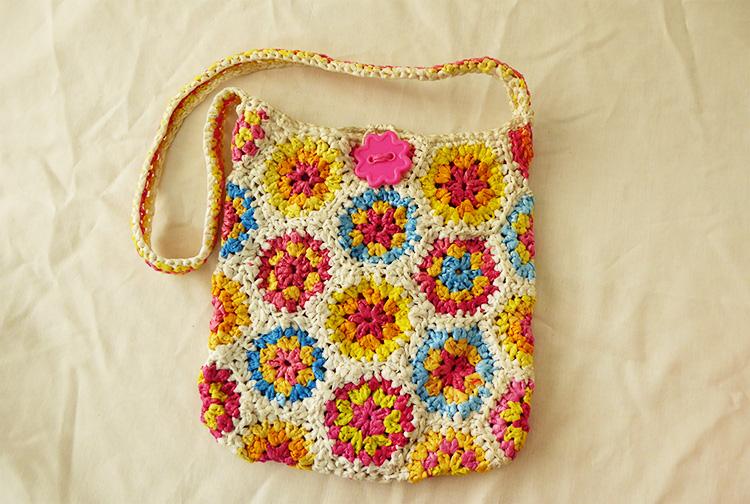 Hexagon plastic bag