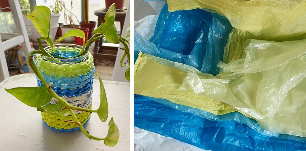 סריגה משקיות ניילון – סדנה אינטרנטית חינמית